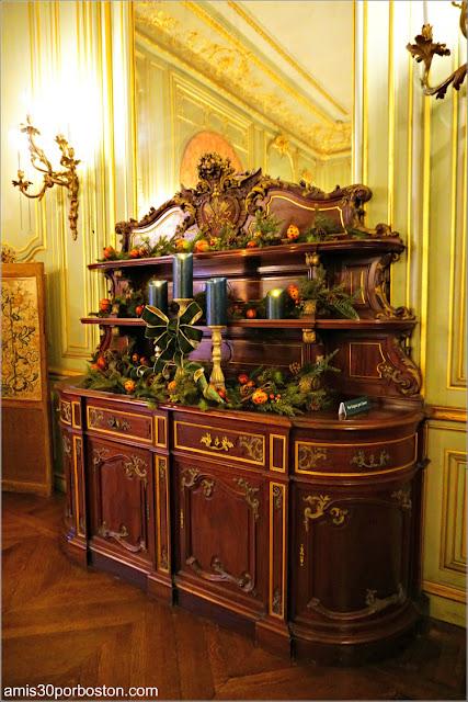 Mueble del Salón del Desayuno de The Breakers, Newport