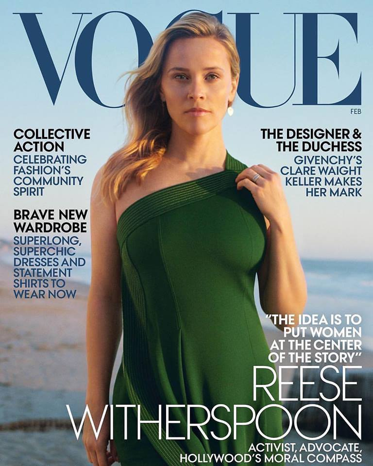 Reese Witherspoon for Vogue US February 2019