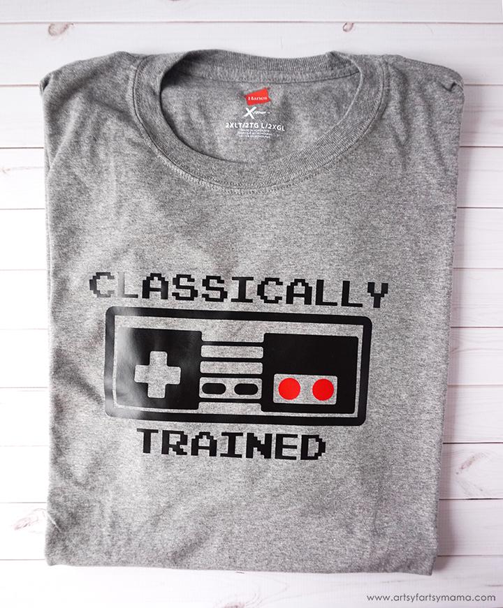 DIY Nintendo Controller Shirt