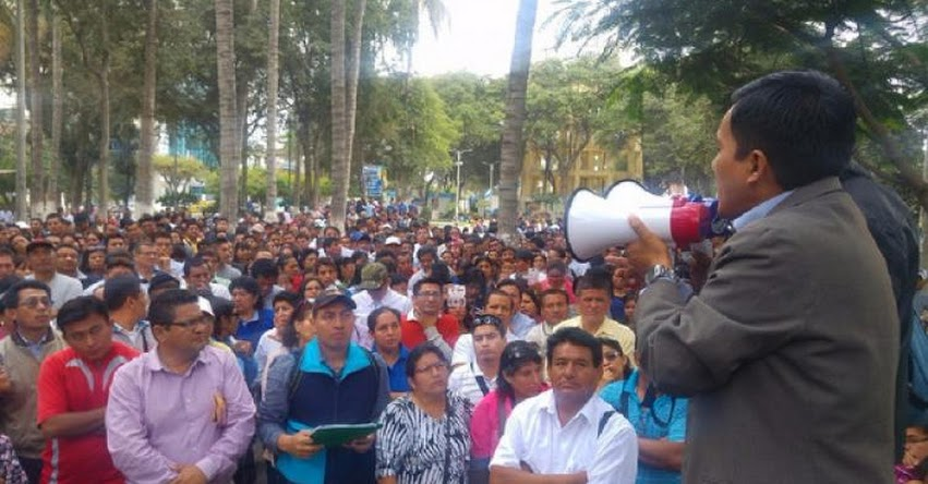 Maestros de Piura acatarán paro en apoyo a interpelación de Ministra de Educación Marilú Martens