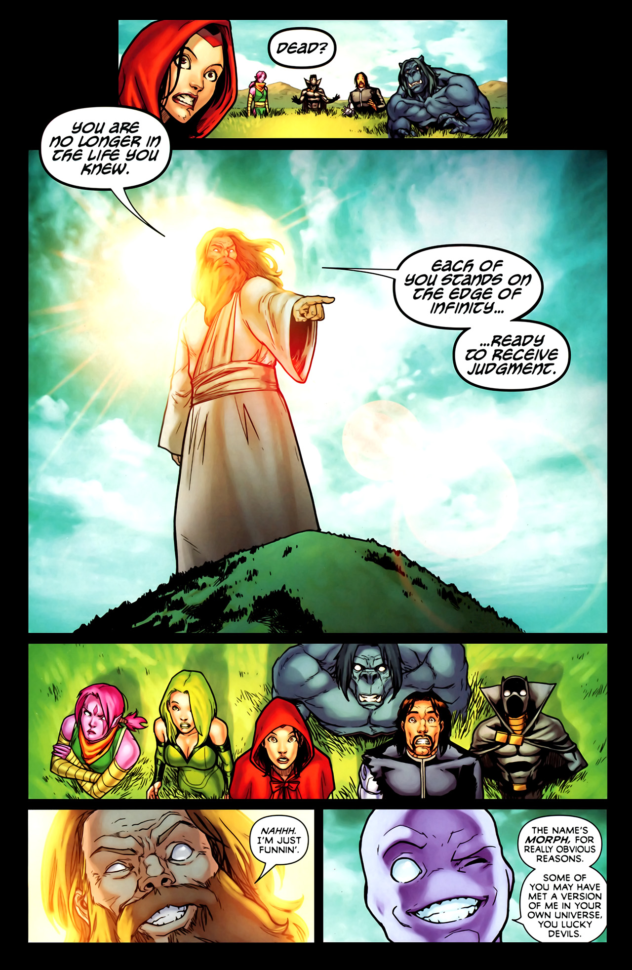Read online Exiles (2009) comic -  Issue #1 - 15