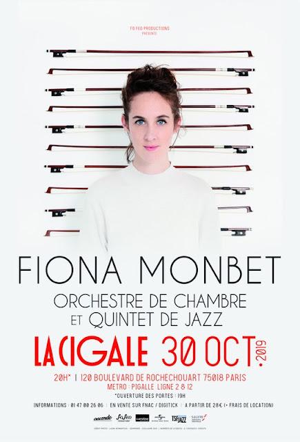 Fiona Monbet a fait chavirer la cigale hier soir par une prestation mémorable.