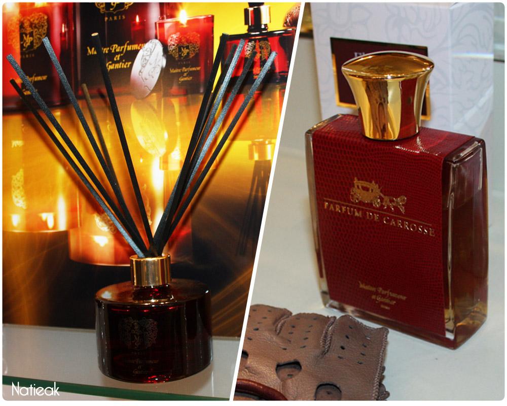 Diffuseur et parfum de carrosse de Maître Parfumeur et Gantier
