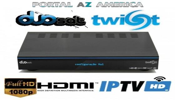 Resultado de imagem para DUOSAT TWIST HD portal azamerica