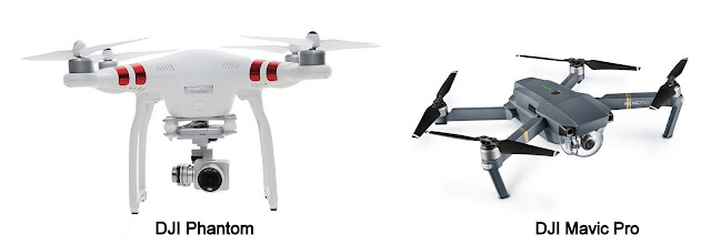 China's DJI Drones - Phantom and Mavic Pro