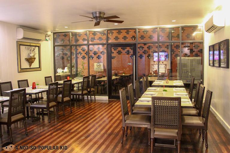Interior of Limbaga 77, Filipino Restaurant