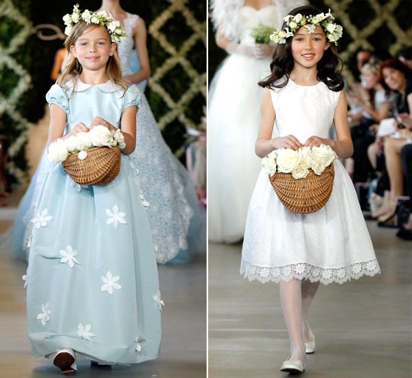 7a7359ec5d4 FASHION TREND  Cute Flower Girl Dresses from Oscar de la Renta 2013