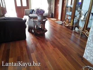 Penjualan lantai kayu Kalimantan Selatan