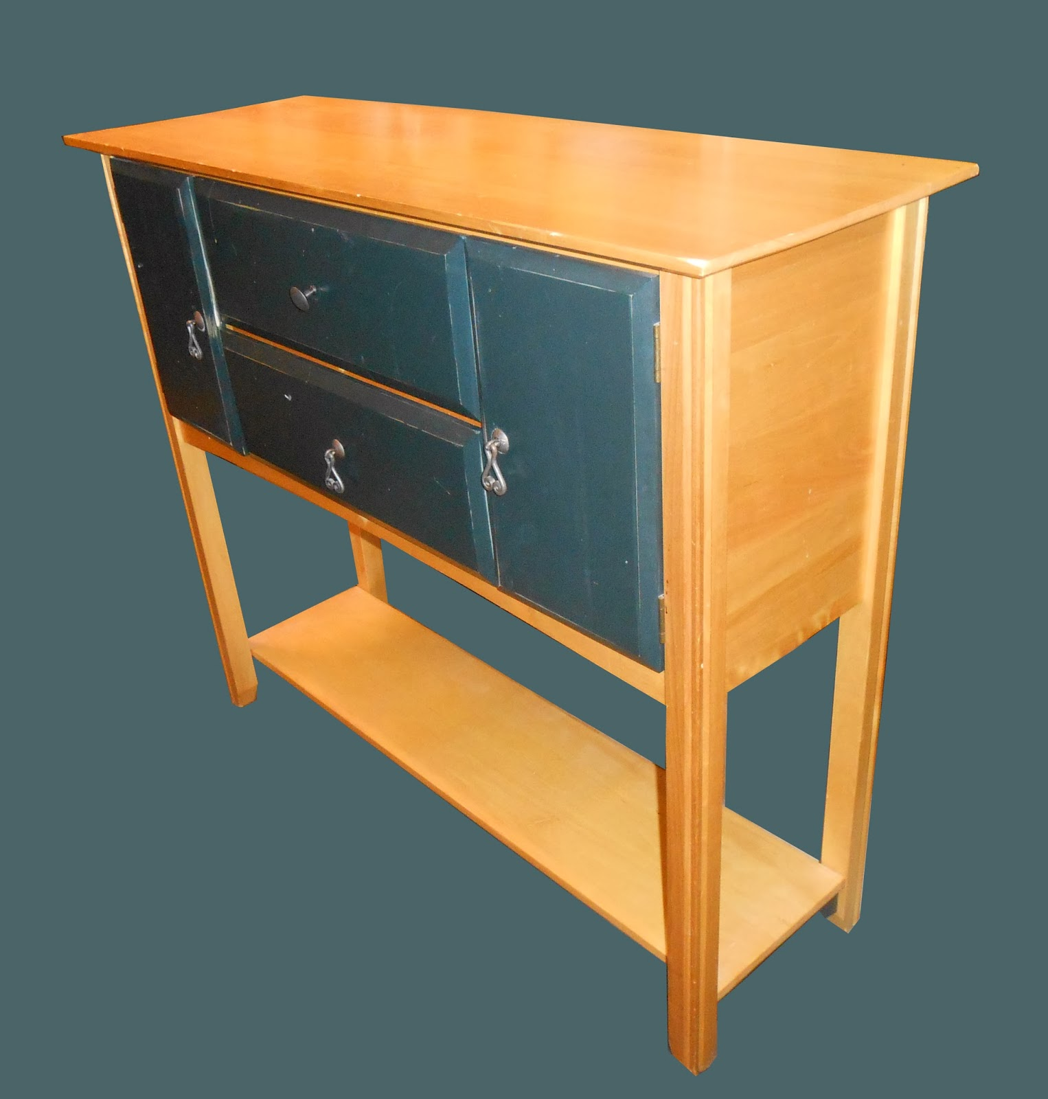 Uhuru Furniture & Collectibles: Birch Wood Kitchen Island