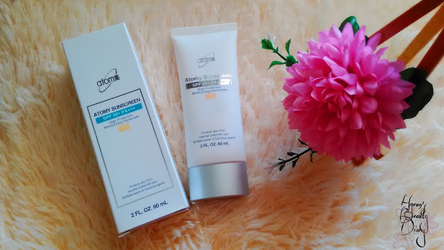 Review; Atomy's Sunscreen Beige SPF50+ PA+++