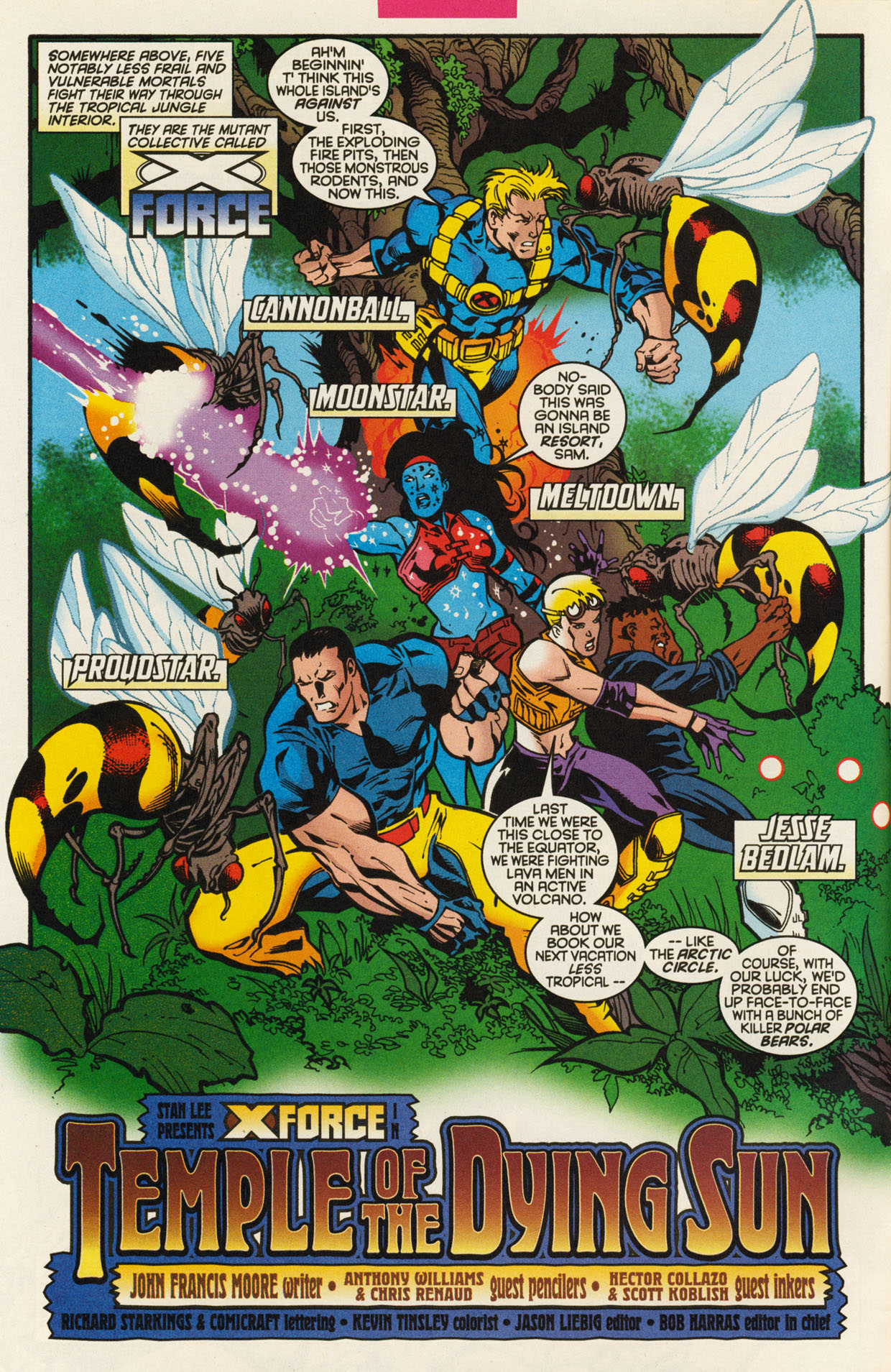 Read online X-Force (1991) comic -  Issue #93 - 4