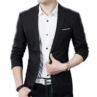 blazer pria casual murah
