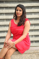 Shravya Reddy in Short Tight Red Dress Spicy Pics ~  Exclusive Pics 047.JPG