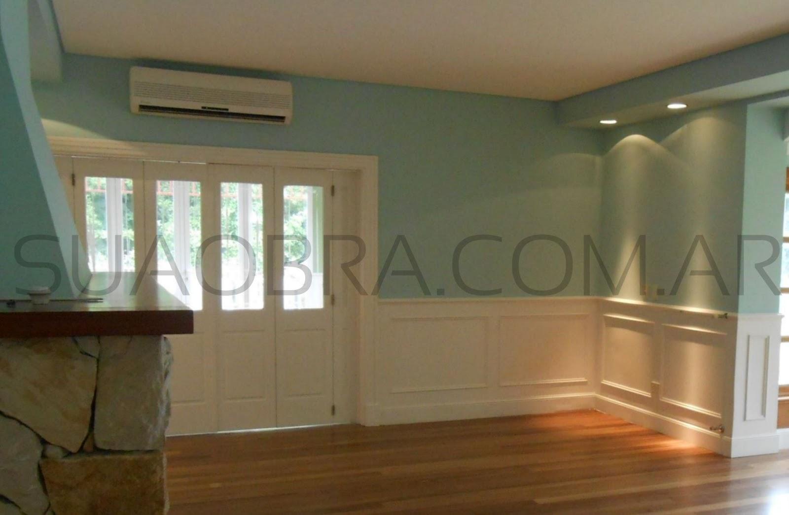 Revestimientos plasticos por suaobra com for Pintura pared interior colores