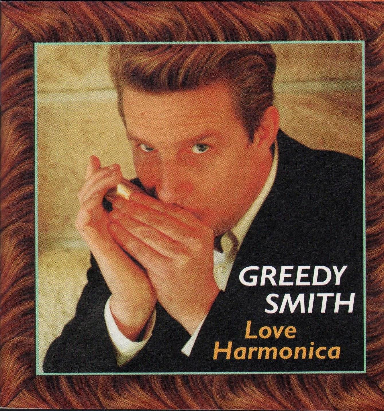 Ozzie Music Man Post 536 Greedy Smith Love Harmonica Lp
