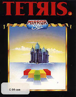 Carátula de Tetris MirrorSoft, Commodore 64
