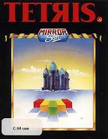 Carátula de Tetris MirrorSoft, Commodore 64