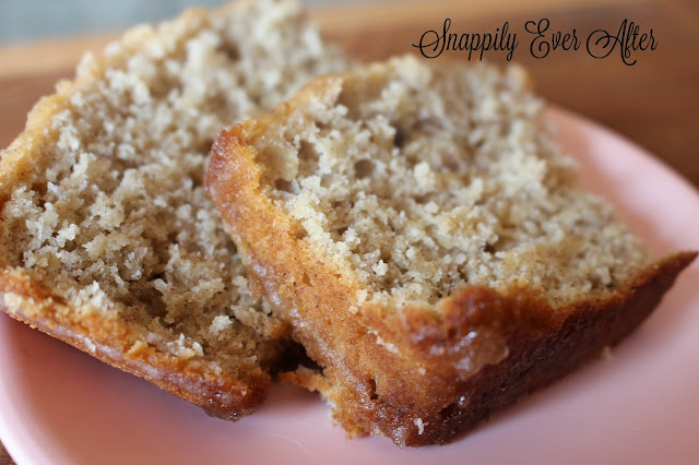 Snappily Ever After: Glazed Apple Cinnamon Oatmeal Bread