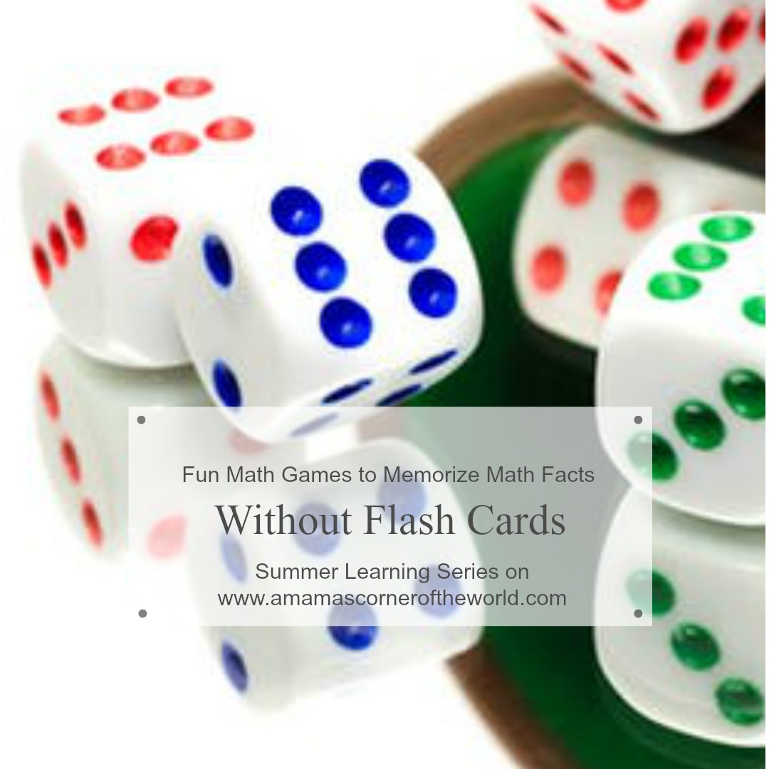 Fun Math Games and Activities to Memorize Math Facts without Flash ...