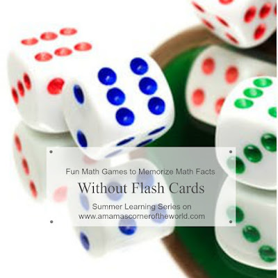 Math Games to Teach Math Facts withoug Flash Cards