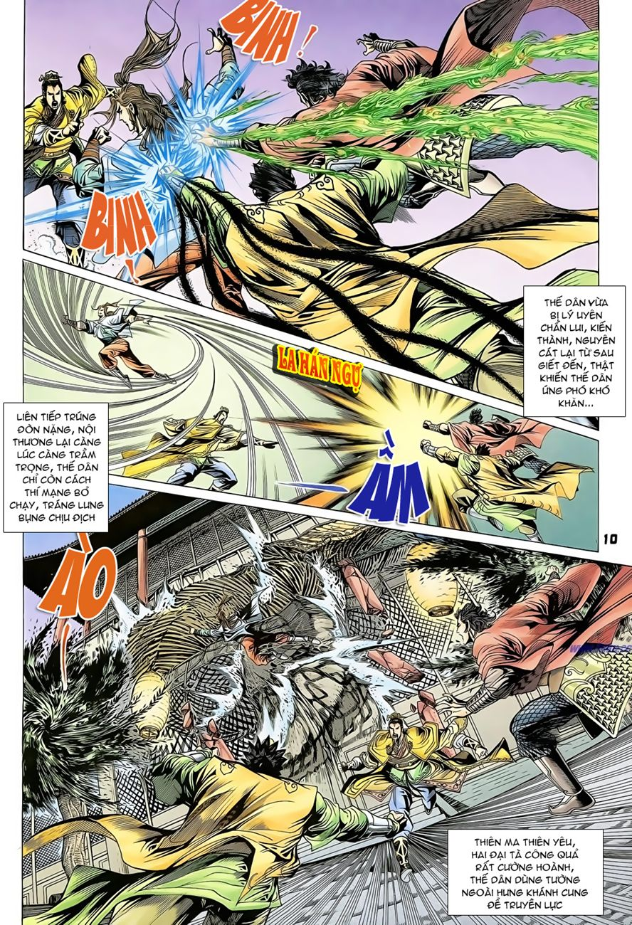 Đại Đường Uy Long chapter 71 trang 10