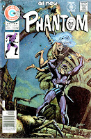The Phantom v2 #71 charlton comic book cover art by Don Newton