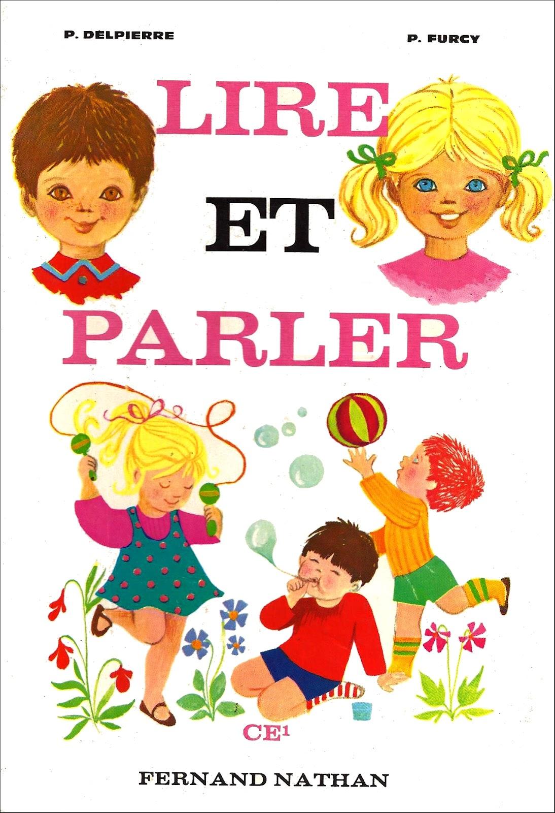 Turbo Manuels anciens: Lire et parler CE1 - Delpierre et Furcy : manuel  NV37