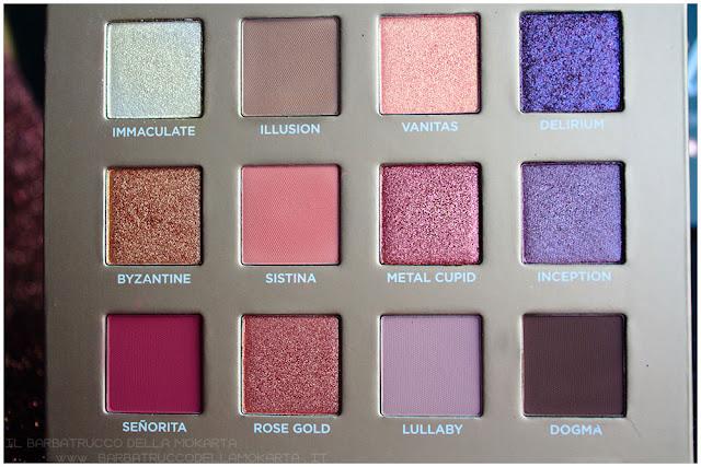 dreamy eyeshadow palette nabla cosmetics ombretti recensione
