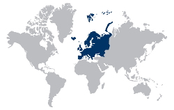 Le Chameau Bleu - Mappemonde Voyage en Europe