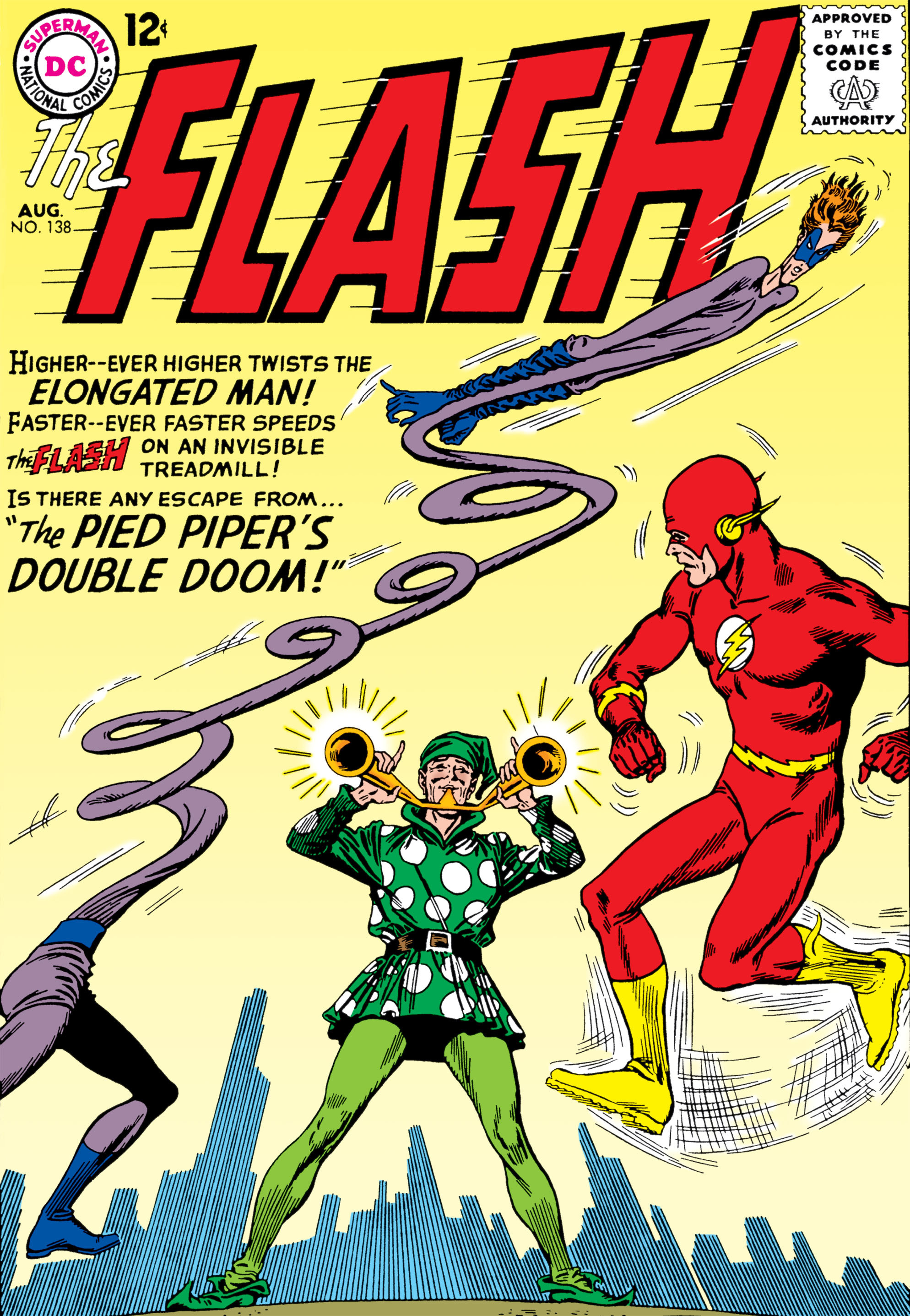 The Flash (1959) 138 Page 1