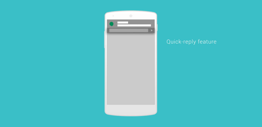 Fitur Quick Reply Android 6.0 Muffin