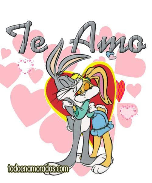 Te amo Bugs Bunny