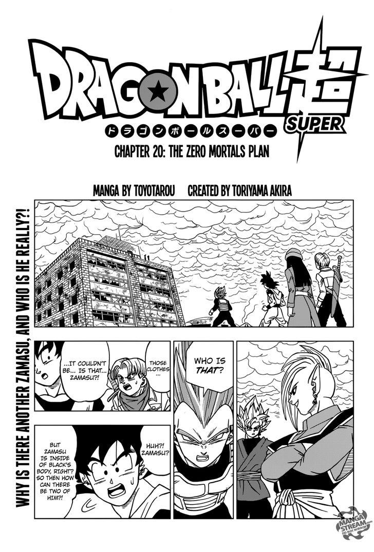 Dragon Ball Super Chapter 20 English UPDATE