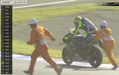 Rossi: Kenapa Saya Bisa Jatuh?