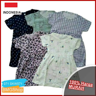 SKW071 Dress Anak Rempel Shila Sampai BMGShop