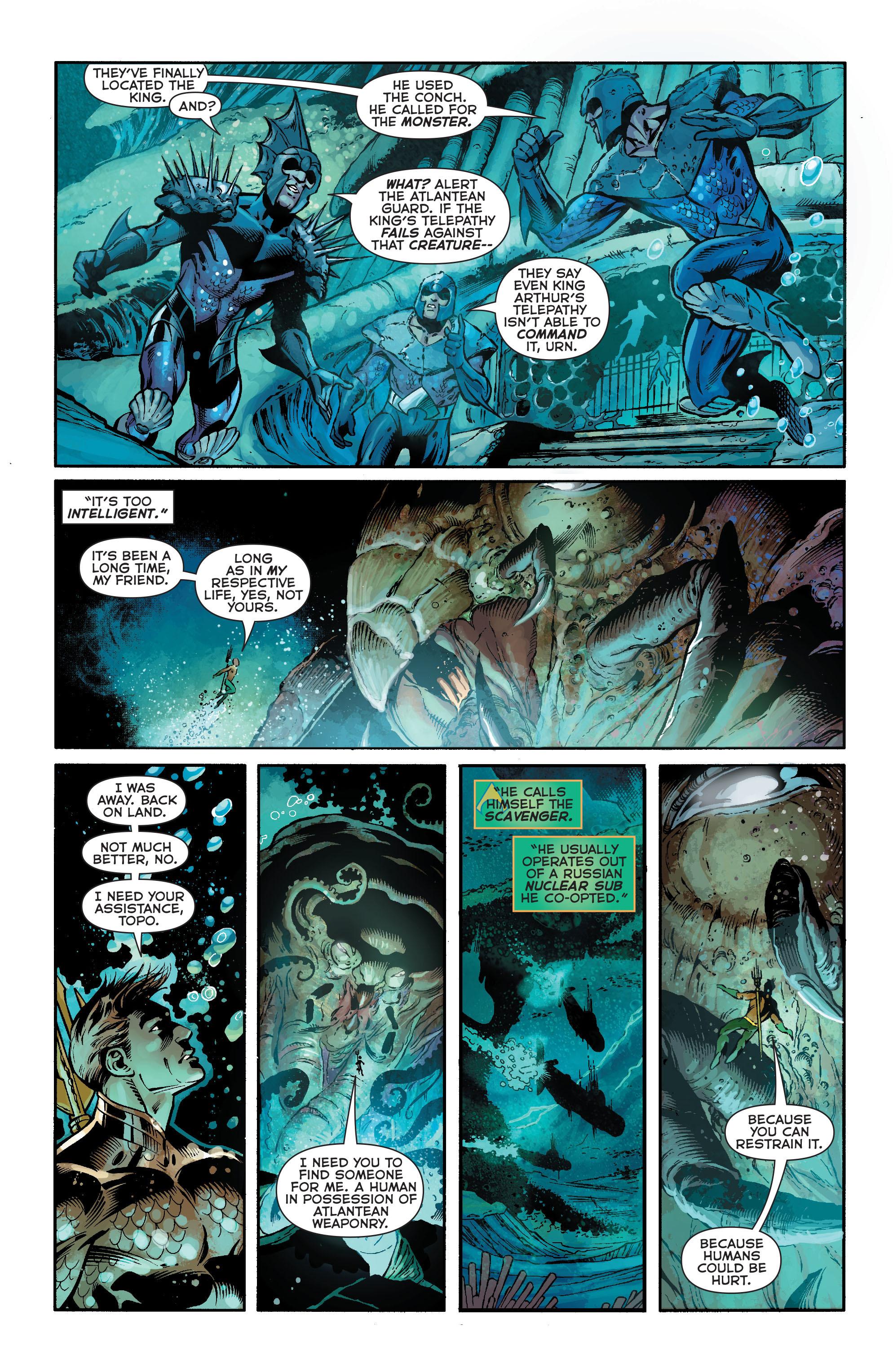 Read online Aquaman (2011) comic -  Issue #19 - 5