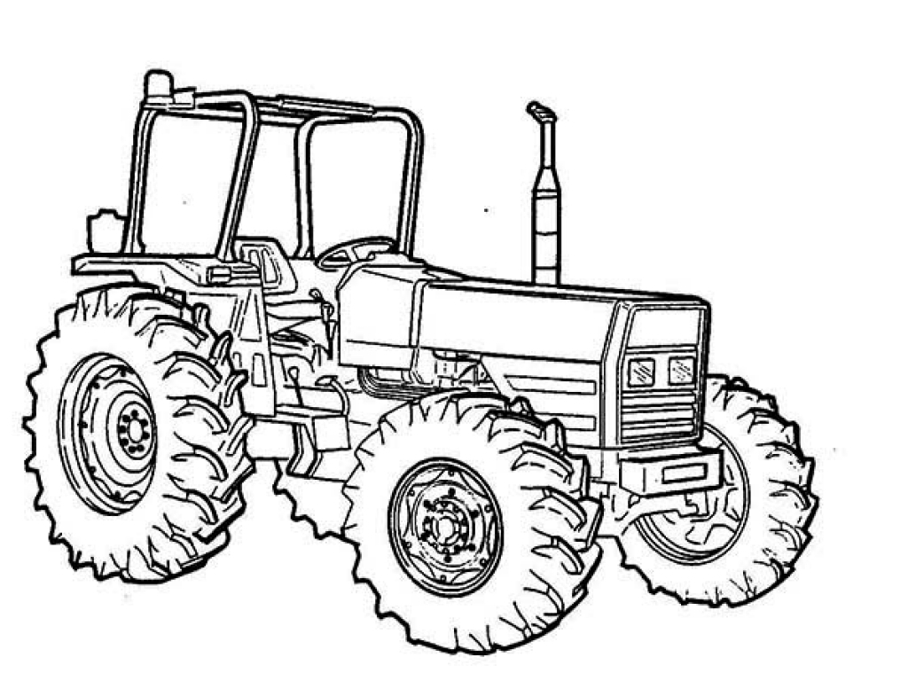Dessins Et Coloriages 5 Coloriages De Tracteurs En Ligne A Imprimer