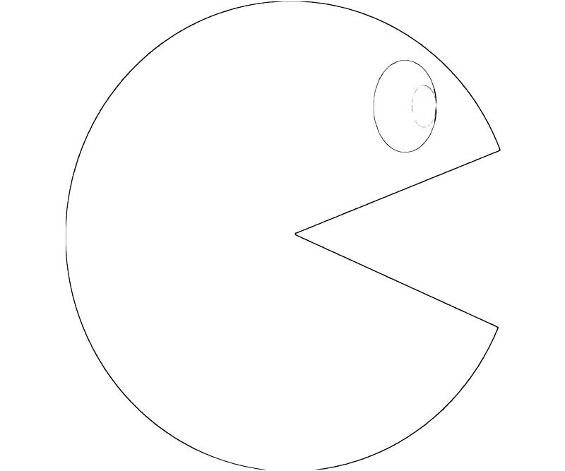 Pac Man Coloring Pages - Eskayalitim