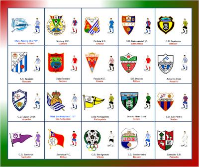 Fútbol Modesto: Resumen Tercera Division Grupo IV Pais Vasco ...