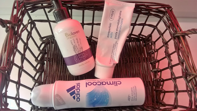 Biolaven - żel do mycia twarzy, ADIDAS Climacool, ZIAJA pasta stomatologiczna remineralizująca