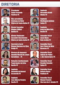 Diretores da ABLOGPE são homenageados em voto de aplausos pelo deputado Ricardo Costa