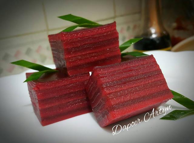 Foto Resep Red Velvet Kue Lapis Sederhana Spesial Asli Enak