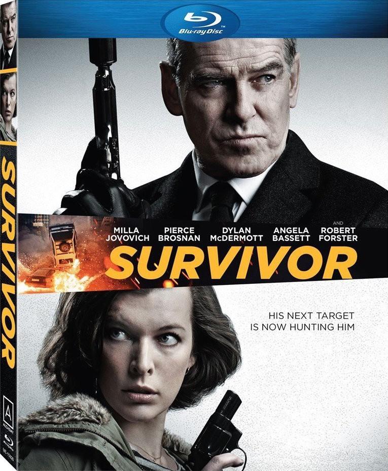 Survivor (2015) 1080p BD25 Cober Caratula Blu ray
