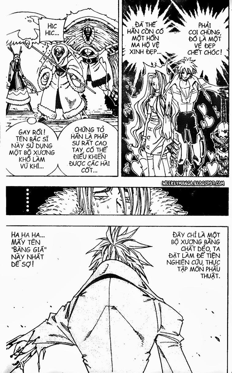 Shaman King [Vua pháp thuật] chap 130 trang 3