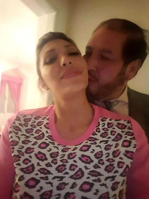 Gabriela Zapata en abrazos con su abogado Zuleta - Fotos