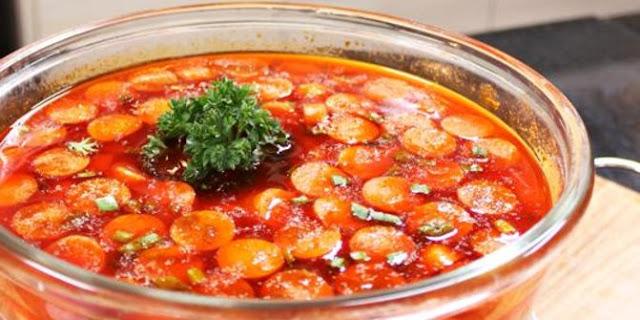 Resep Sup Merah Istimewa Dengan Cakue Udang Khas Surabaya