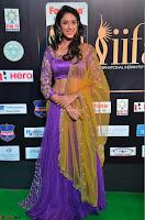 Priya Sri in Purple Choli Stunning Beauty at IIFA Utsavam Awards 2017  Day 2 at  13.JPG