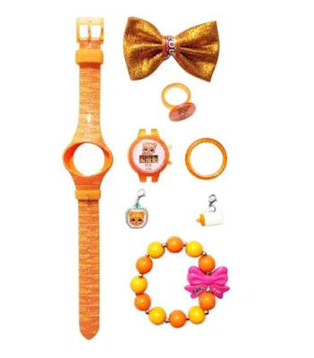 Оранжевые наручные часы L.O.L. Surprise