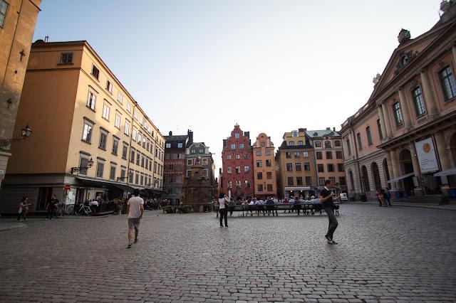 Piazza Stortorget-Gamla stan-Stoccolma