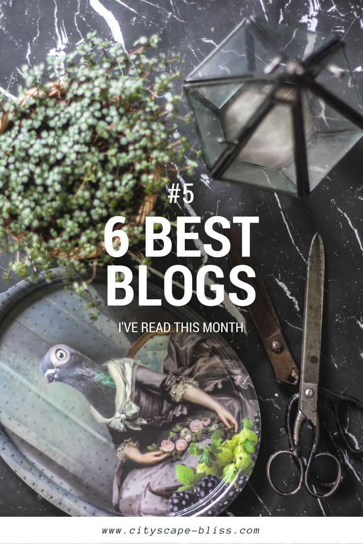 6 blogs I've actually read in April 2017